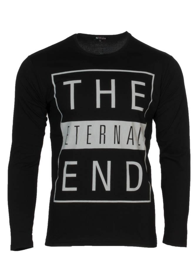 Ανδρική μπλούζα Τhe End Black αρχική ανδρικά ρούχα μπλούζες