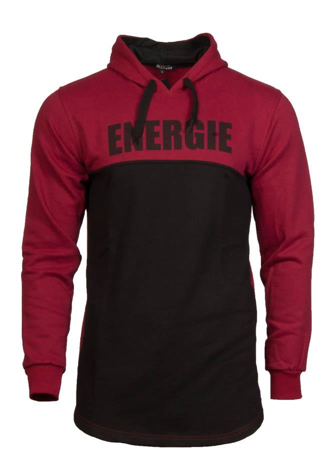 Ανδρικό Φούτερ Energie Bordeaux αρχική ανδρικά ρούχα φούτερ