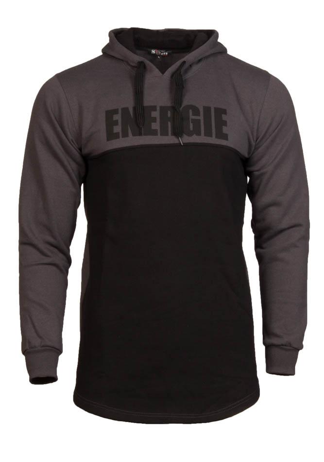 Ανδρικό Φούτερ Energie D.Grey αρχική ανδρικά ρούχα φούτερ