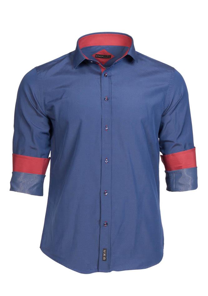 Ανδρικό Πουκάμισο CND White Spots αρχική ανδρικά ρούχα επιλογή ανά προϊόν πουκάμισα