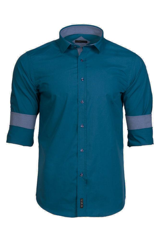 Ανδρικό Πουκάμισο CND Petrol αρχική ανδρικά ρούχα επιλογή ανά προϊόν πουκάμισα