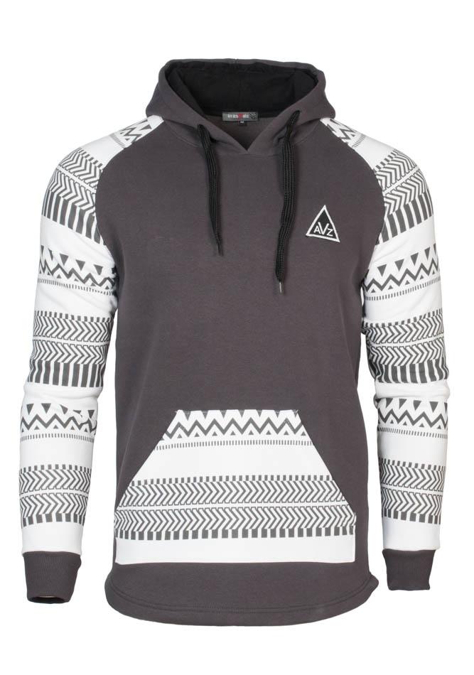 Ανδρικό φούτερ Triangle Sleeves αρχική ανδρικά ρούχα φούτερ