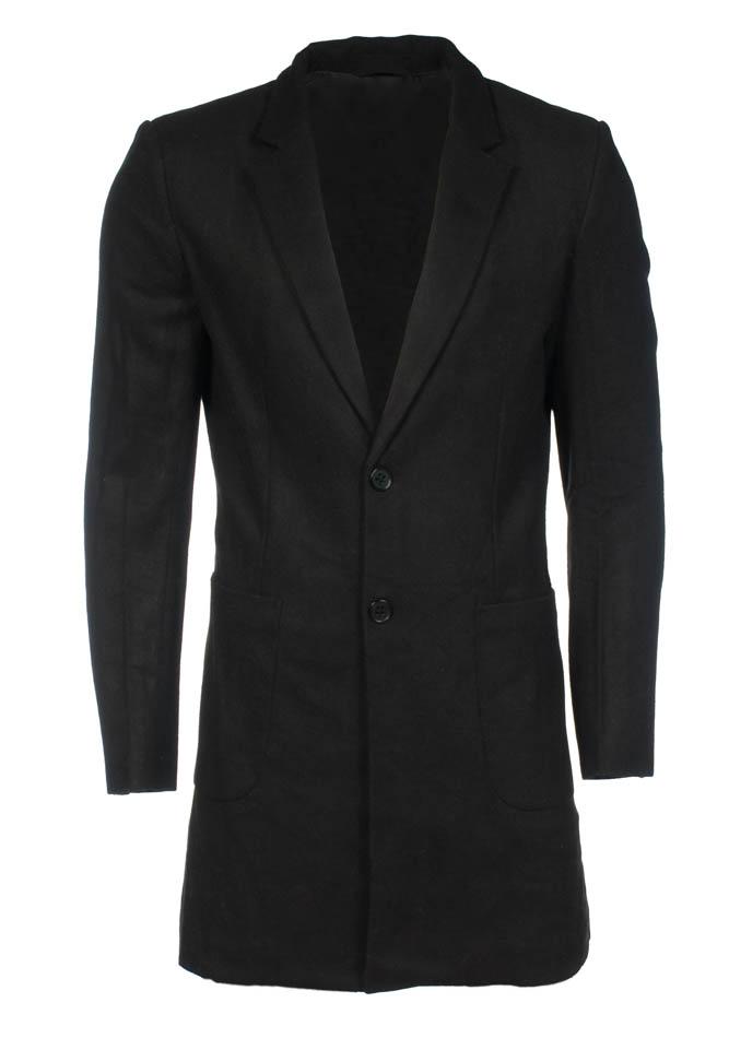 Ανδρικό Παλτό Design Black