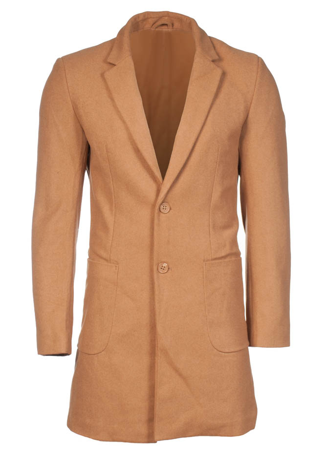 Ανδρικό Παλτό Design Camel αρχική ανδρικά ρούχα μπουφάν