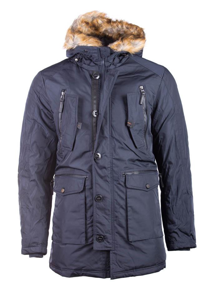 Ανδρικό Μπουφάν Star Dark Blue αρχική ανδρικά ρούχα μπουφάν
