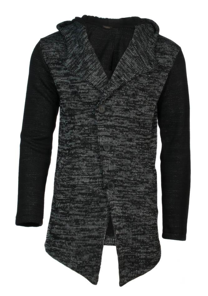 Πλεκτή Ζακέτα D. Grey Hood αρχική ανδρικά ρούχα ζακέτες
