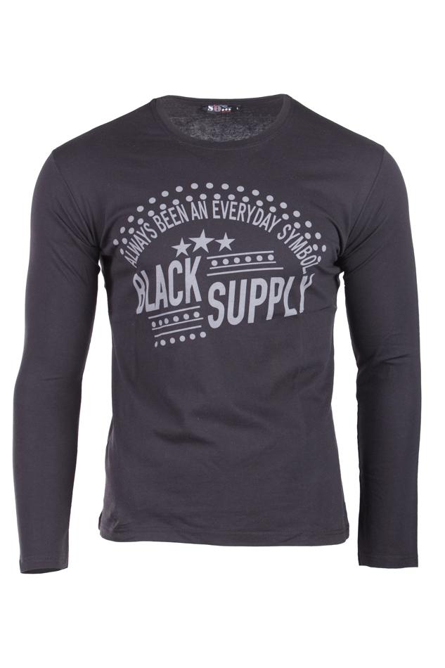 Ανδρική Μπλούζα Symbol Black αρχική ανδρικά ρούχα επιλογή ανά προϊόν μπλούζες