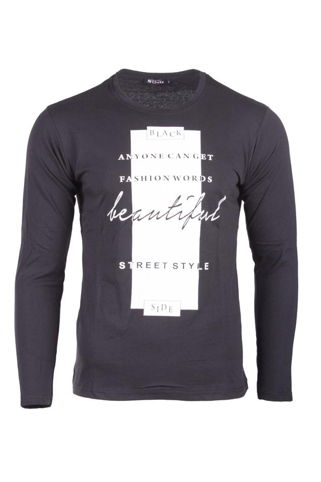 Ανδρική Μπλούζα Beautiful Black αρχική ανδρικά ρούχα επιλογή ανά προϊόν μπλούζες