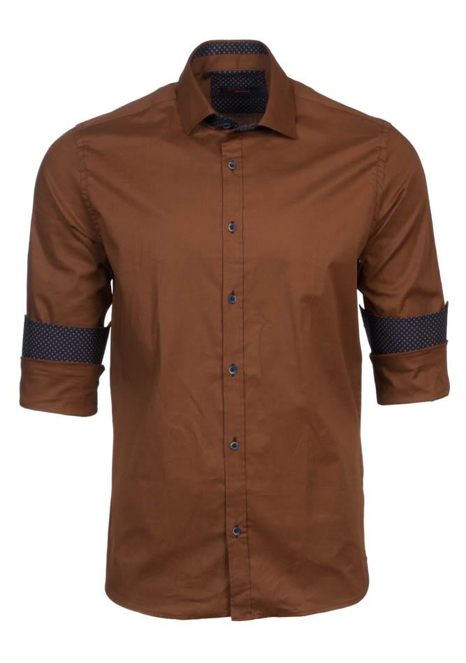 Ανδρικό Πουκάμισο Brand's Camel αρχική ανδρικά ρούχα πουκάμισα