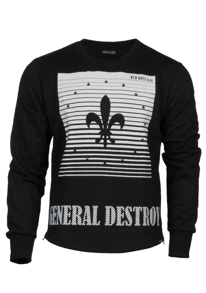 Ανδρική Μπλούζα General Wave αρχική ανδρικά ρούχα φούτερ