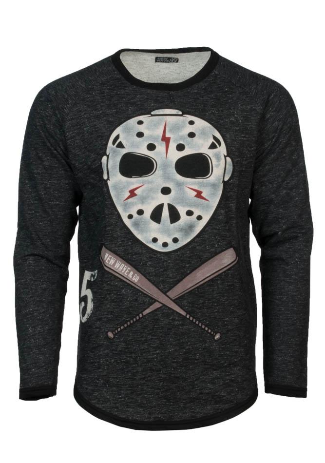 Ανδρική Μπλούζα Baseball Grey αρχική ανδρικά ρούχα επιλογή ανά προϊόν φούτερ