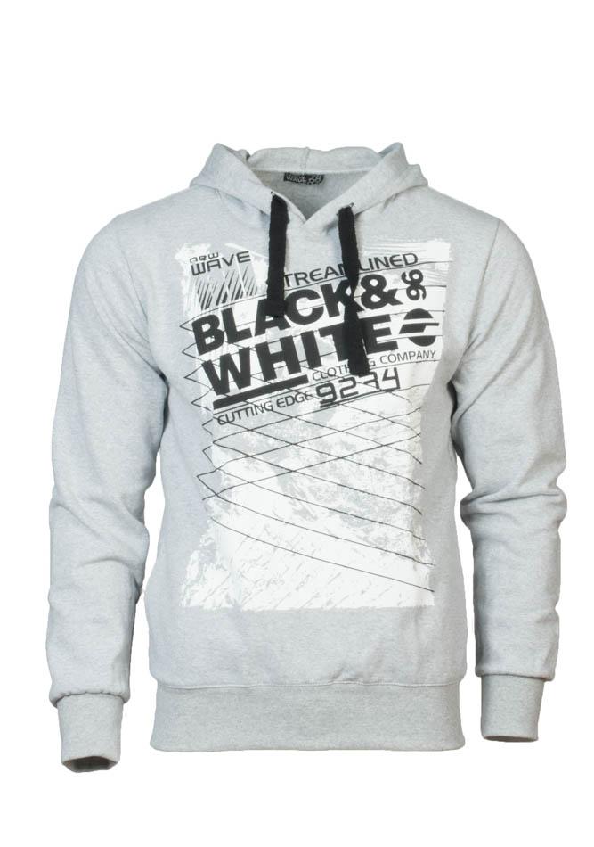 Ανδρικό Φούτερ Wave White αρχική ανδρικά ρούχα φούτερ
