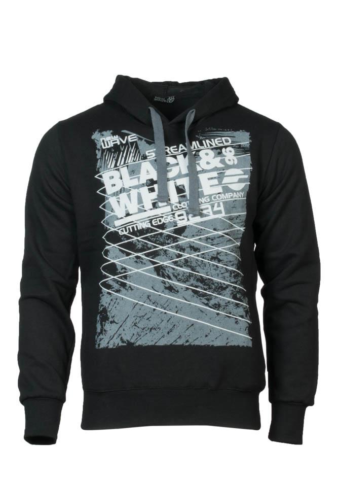 Ανδρικό Φούτερ Wave Black αρχική ανδρικά ρούχα επιλογή ανά προϊόν φούτερ