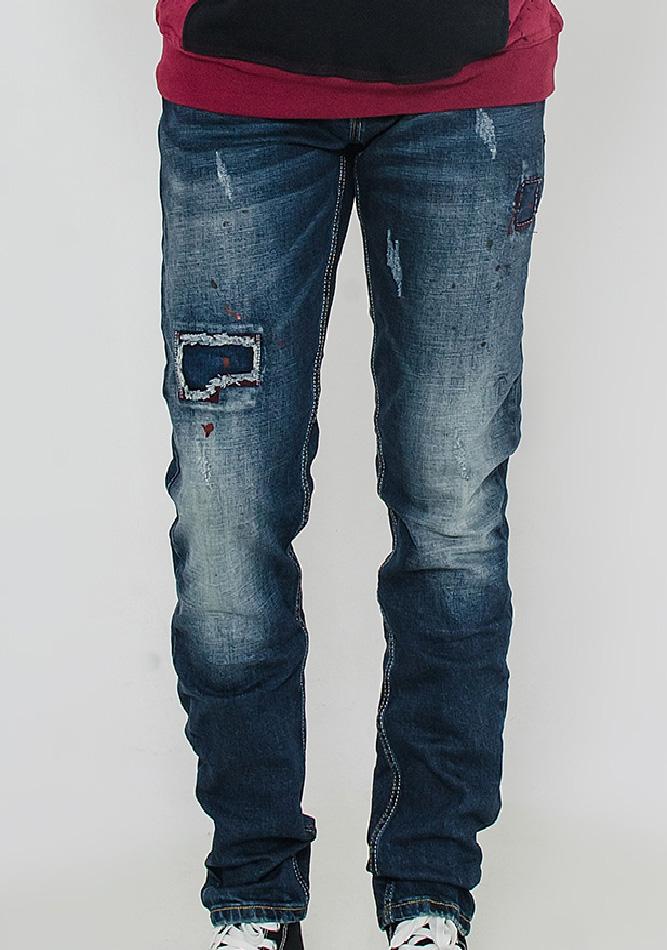 Aνδρικό jean παντελόνι Spoil Patch αρχική ανδρικά ρούχα παντελόνια παντελόνια jeans