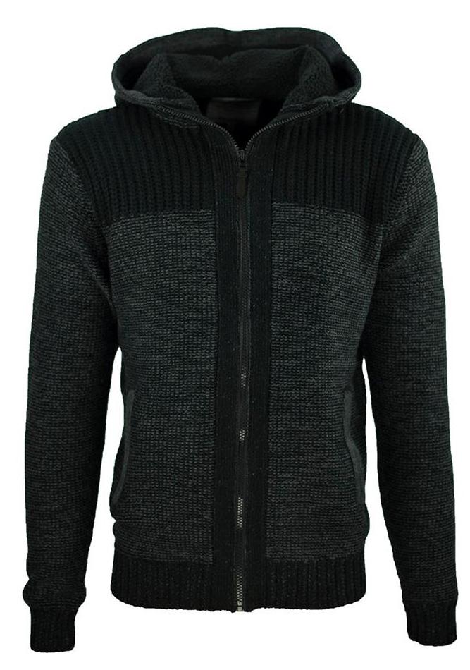 Ανδρική Πλεκτή Ζακέτα Dark Grey Collection αρχική ανδρικά ρούχα ζακέτες