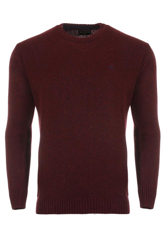 Ανδρική Πλεκτή Μπλούζα Cause Big Size Bordeaux αρχική ανδρικά ρούχα